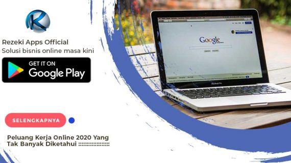 Peluang Kerja Online 2021 Kurang Diketahui