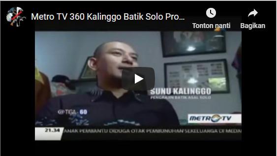 video kalinggo batik